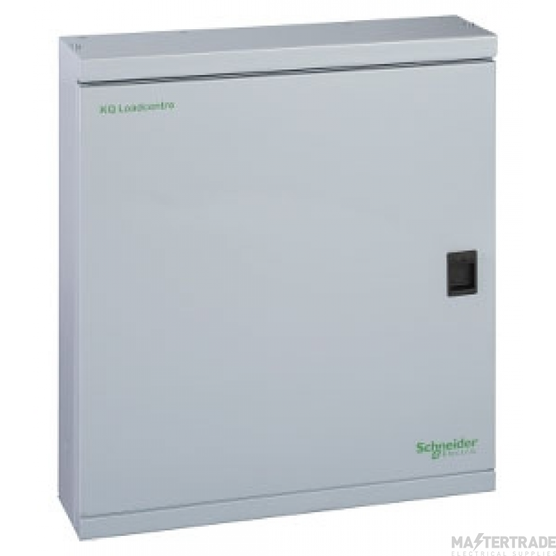 Schneider LoadCentre KQ, steel enclosure, 538 height, with din+front cover+door SE18B2D