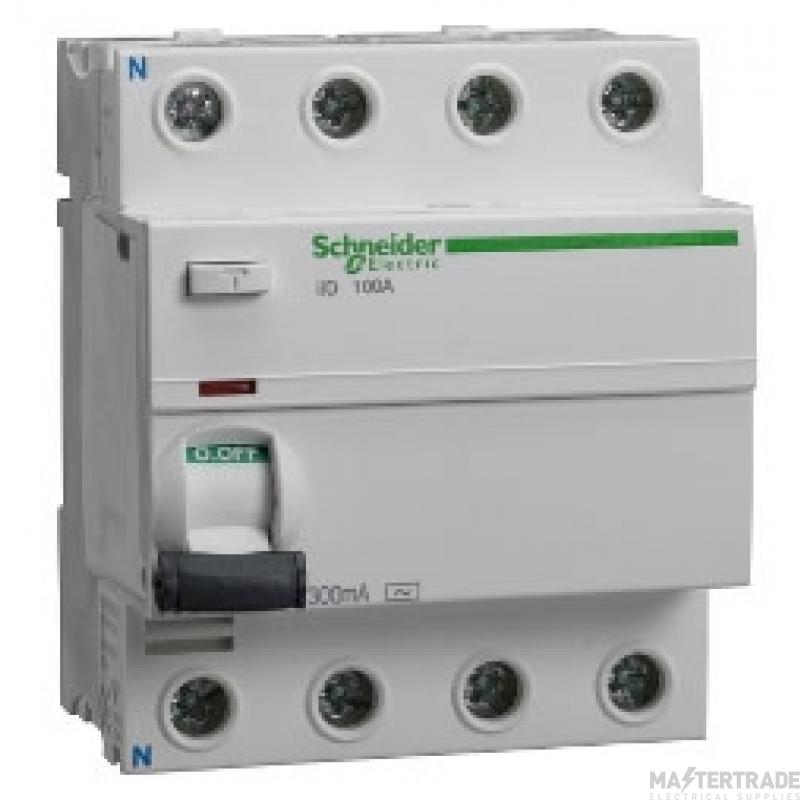 Schneider (Square D) SED100304S RCD 4P 100A 300mA (iKQ)