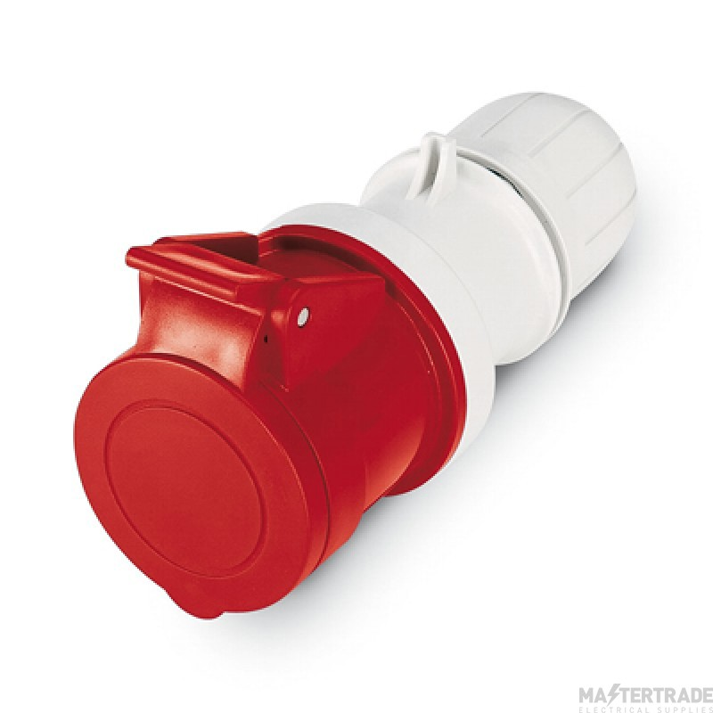 Scame 2P+E 32A Red IP44 Industrial Connector 313.3248