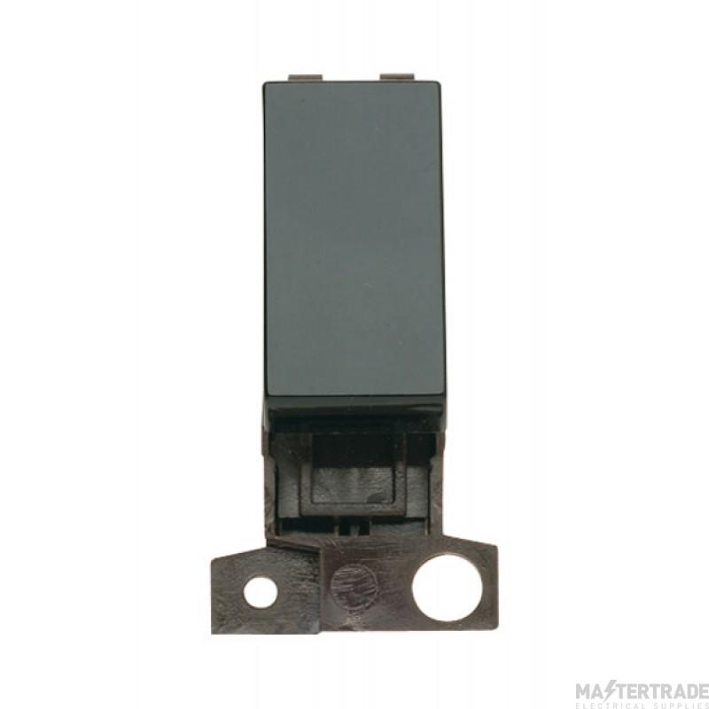 Click MiniGrid MD004BK Black 2 Way Retractive Switch Module