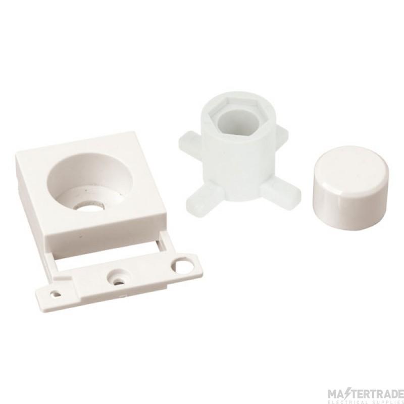 Click MiniGrid MD150PW Polar White Dimmer Module Mounting Kit