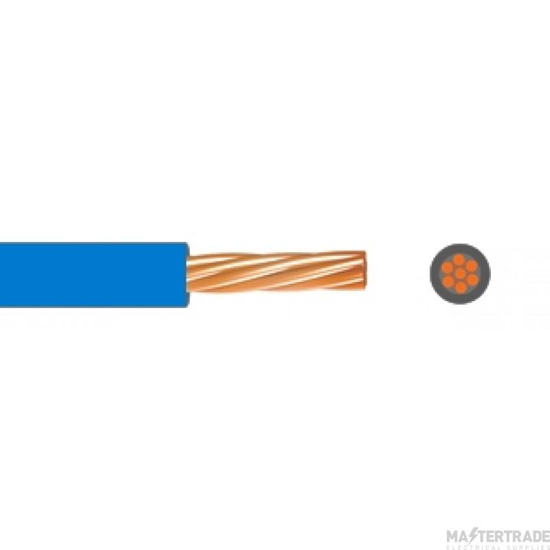 Single Core Low Smoke Zero Halogen Conduit Cable 1.5mmSQ 6491B Blue 100M