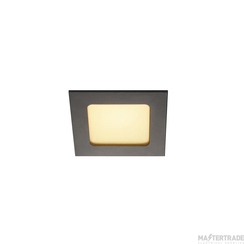 SLV 112720 FRAME BASIC LED SET, downlight , matt black, 6W, 3000K, incl. driver