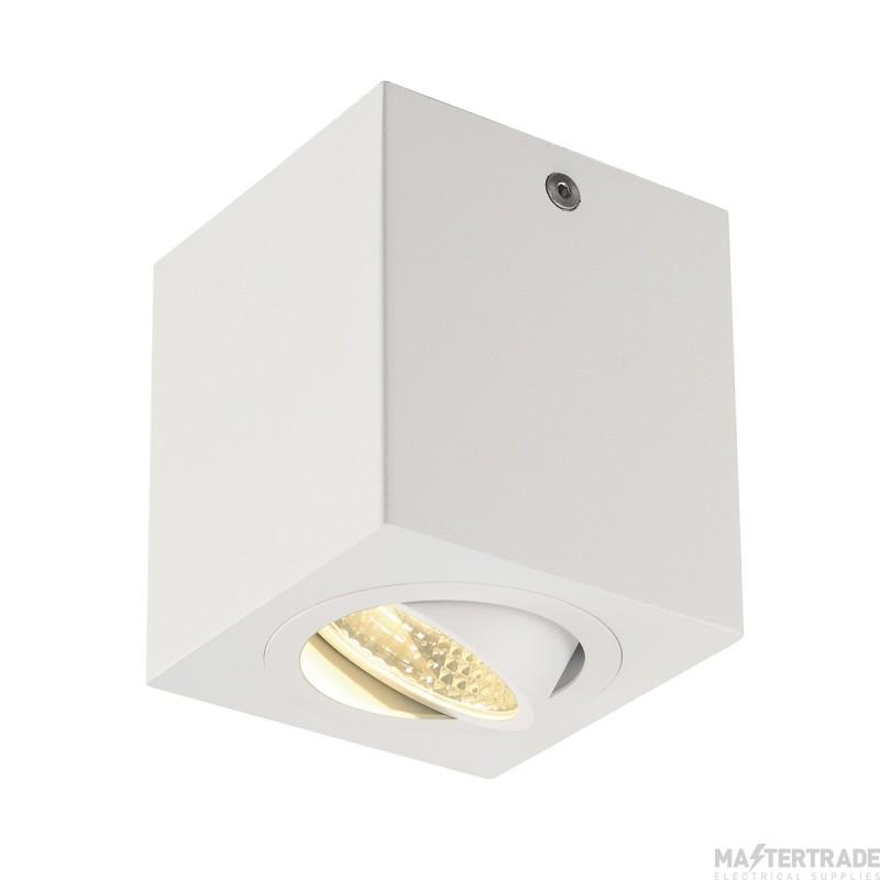 SLV 113941 TRILEDO SQUARE CL ceiling light, matt white, LED, 6W, 38?, 3000K, incl. driver