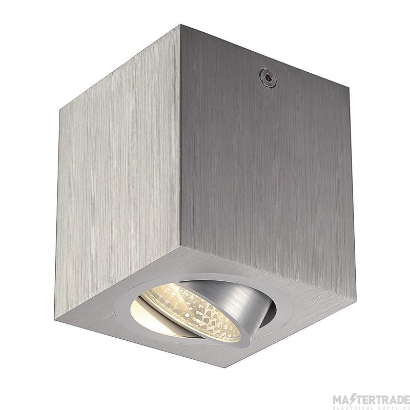 SLV 113946 TRILEDO SQUARE CL ceiling light, alu brushed , LED, 6W, 38?, 3000K, incl. driver