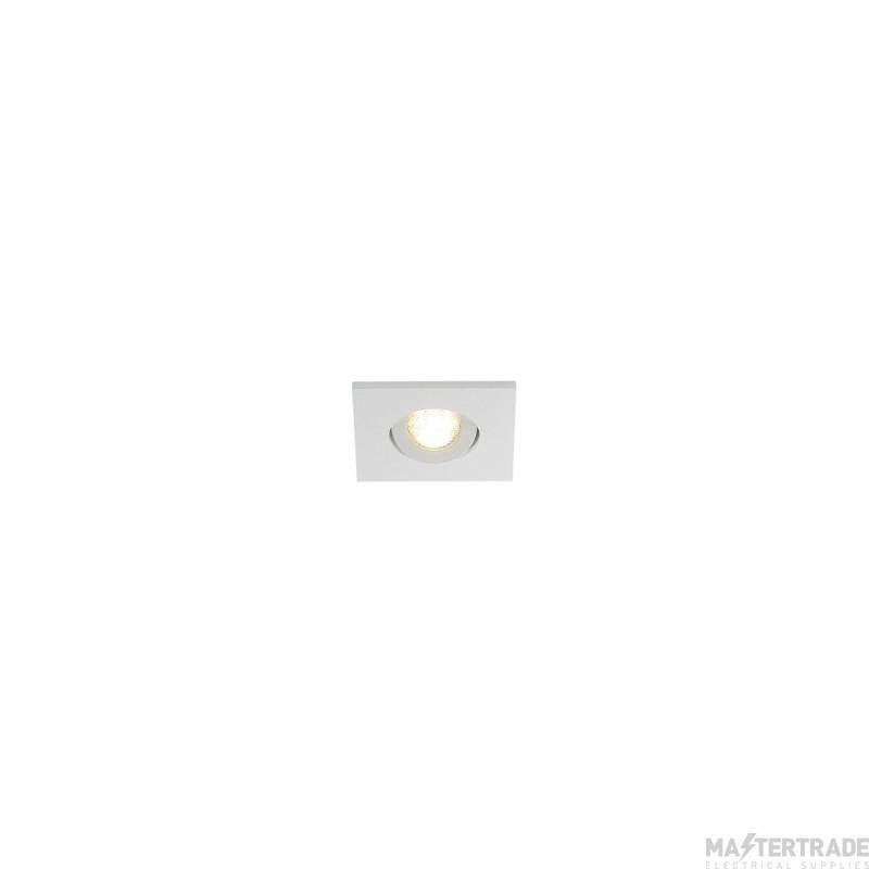 SLV 114401 NEW TRIA MINI DL SQUARE SET, matt white, 3W, 30?, 3000K, incl. driver, clip springs