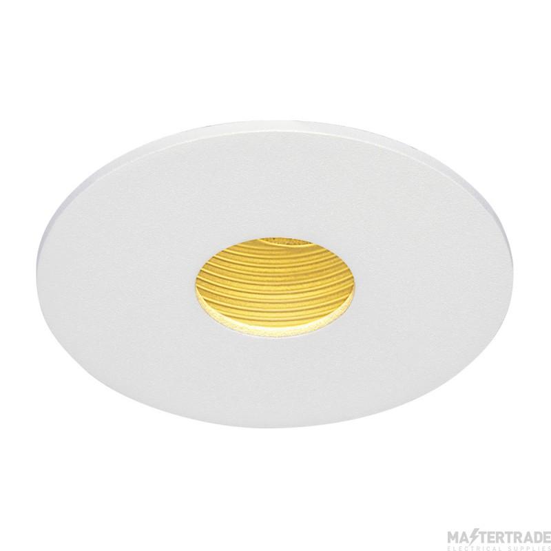 SLV 114481 H-LIGHT ROUND HOLE, matt white , 12W, 20?, 2700K, incl. driver, clip spring