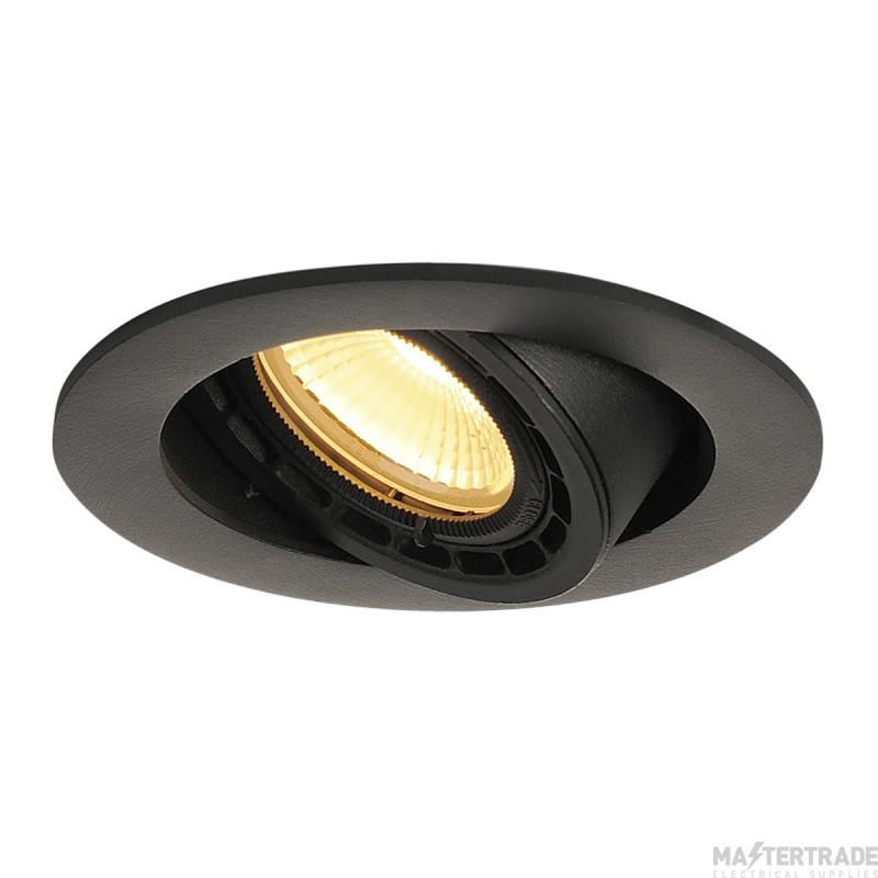 SLV 116310 SUPROS 78 DL recessed ceiling light round, black, 3000K, 60? lens