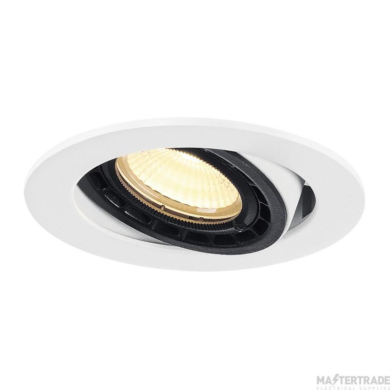 SLV 116311 SUPROS 78 DL recessed ceiling light round, white, 3000K, 60? lens