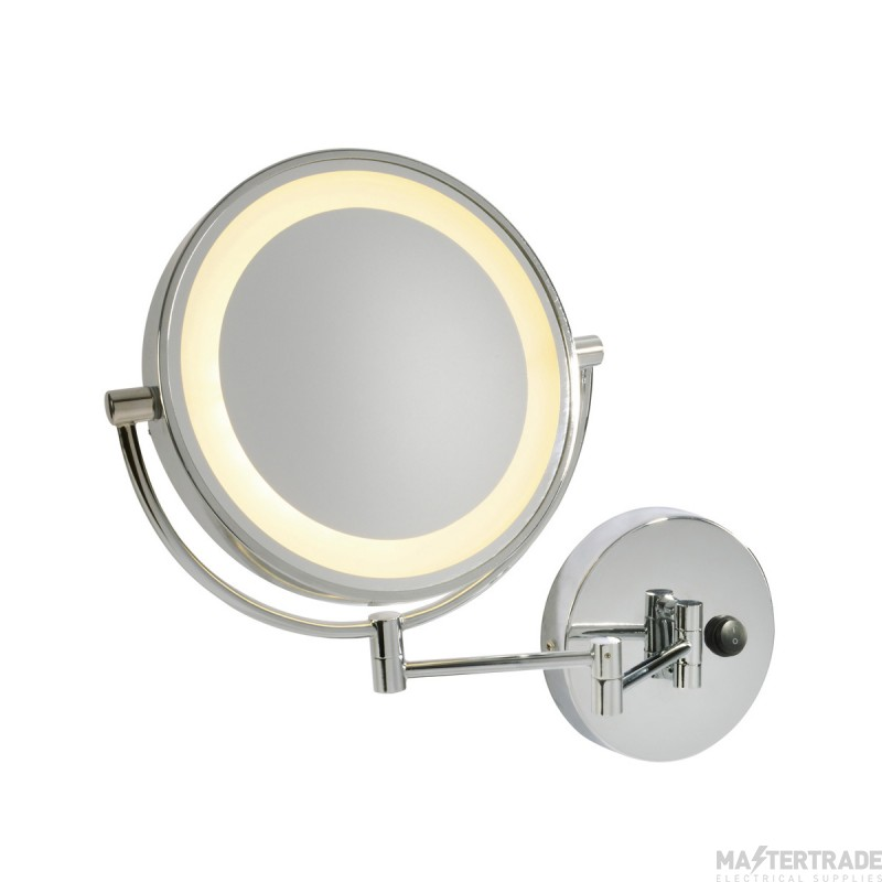 SLV 149782 VISSARDO wall light, makeup mirror, chrome/glass, SMD LED 3000K