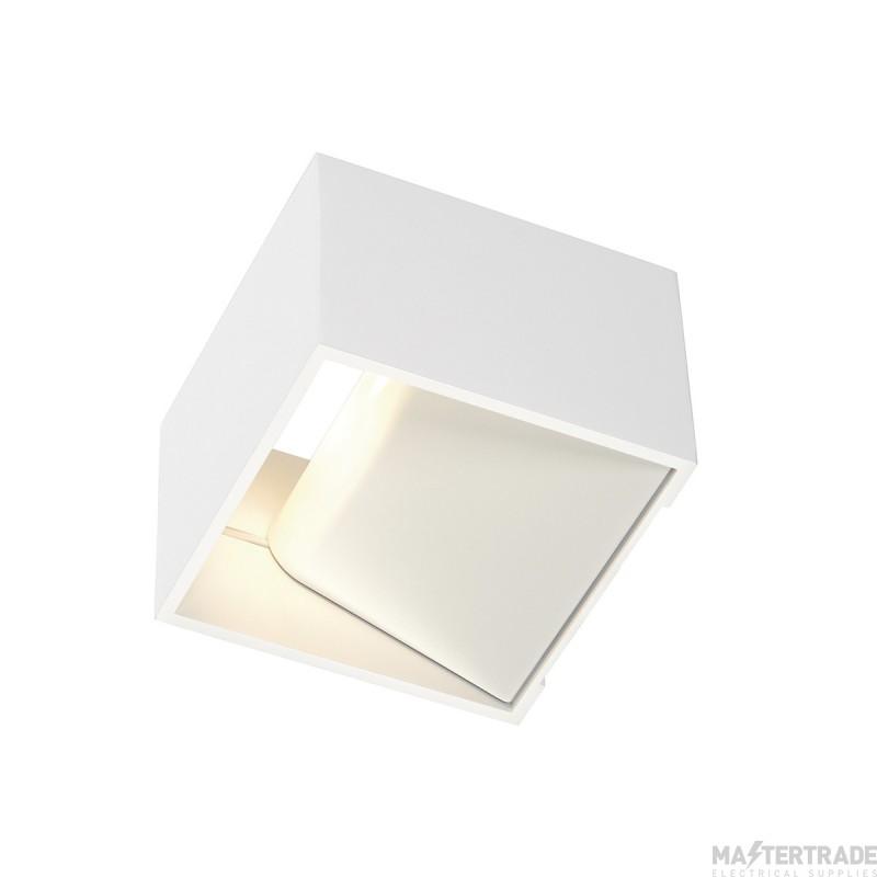 SLV 151321 LOGS IN wall light, square, white, 5W LED, 3000K