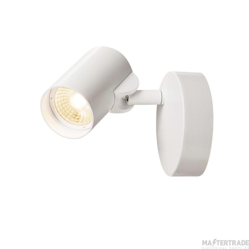 SLV 156501 HELIA LED Single Wall and Ceiling luminaire, 3000K, 35?, white