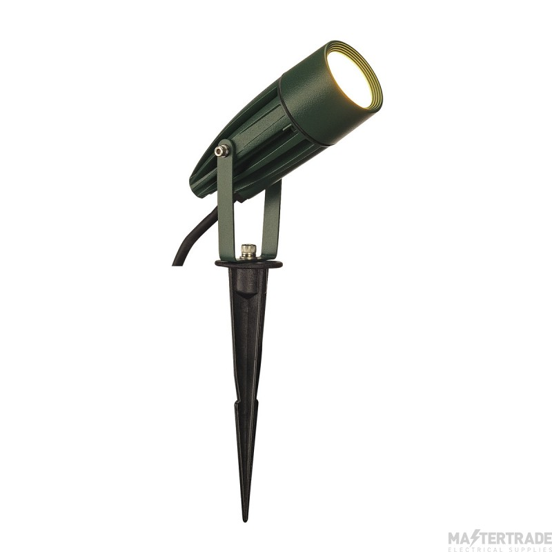 SLV 227508 SYNA LED, earth spike, green, 240V, 3000K