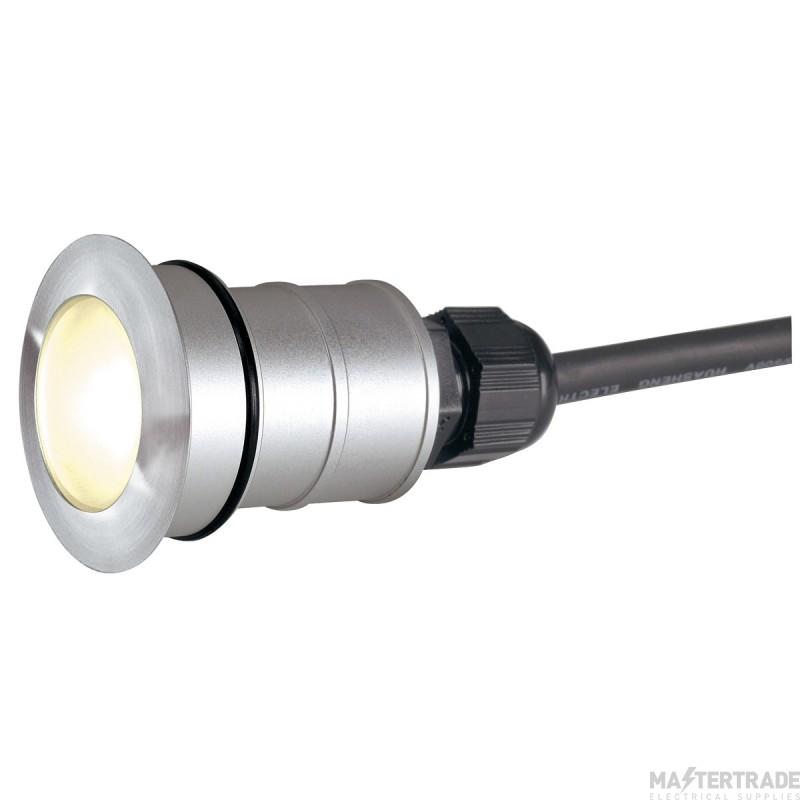 SLV 228332 POWER TRAIL-LITE ROUND, stainless steel 316, 1W LED, 3000K, IP67