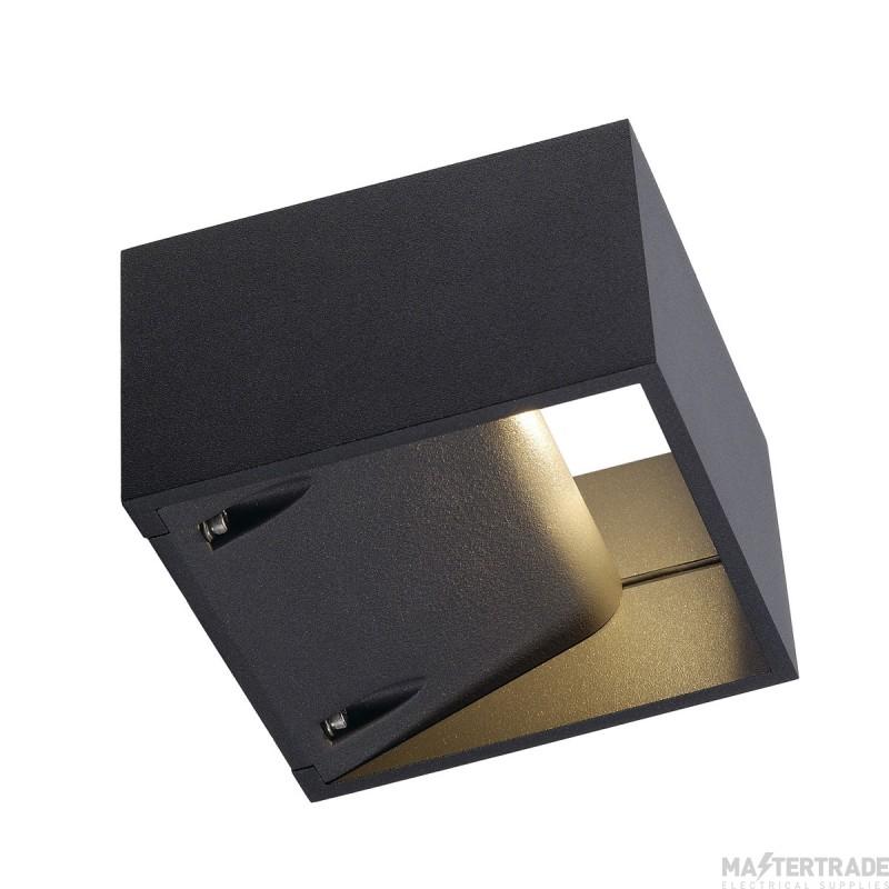 SLV 232105 LOGS WALL LIGHT, square, anthracite, 6W LED, 3000K, IP44