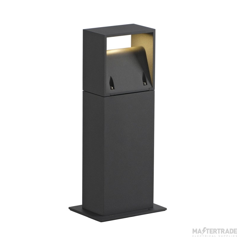 Intalite 232115 LOGS 40 outdoor floor stand, square, anthracite, 6W LED, 3000K, IP44