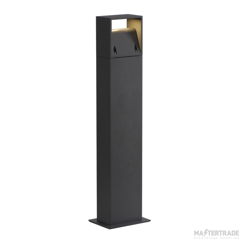 SLV 232125 LOGS 70 outdoor floor stand, square, anthracite, 6W LED, 3000K, IP44