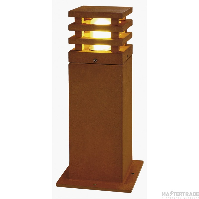 SLV 233427 RUSTY 40 LED SQUARE floor stand, rusted iron, 8.6W COB LED, 3000K, IP55
