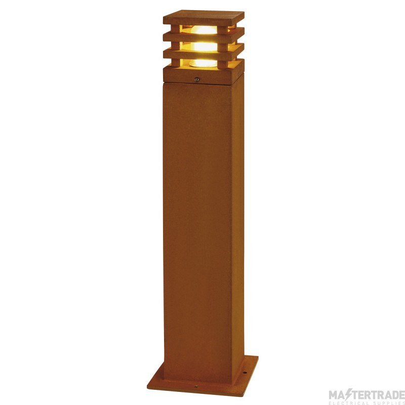 SLV 233437 RUSTY 70 LED SQUARE floor stand, rusted iron, 8.6W COB LED, 3000K, IP55
