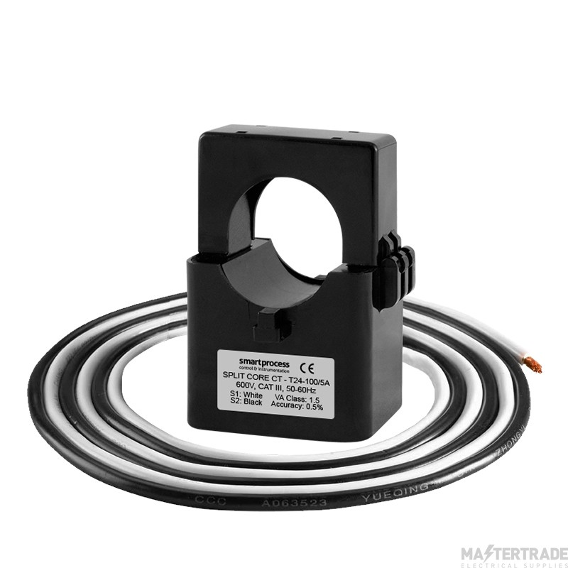 Single Phase, Split Core Current Transformer - 24mm Aperture 150A
