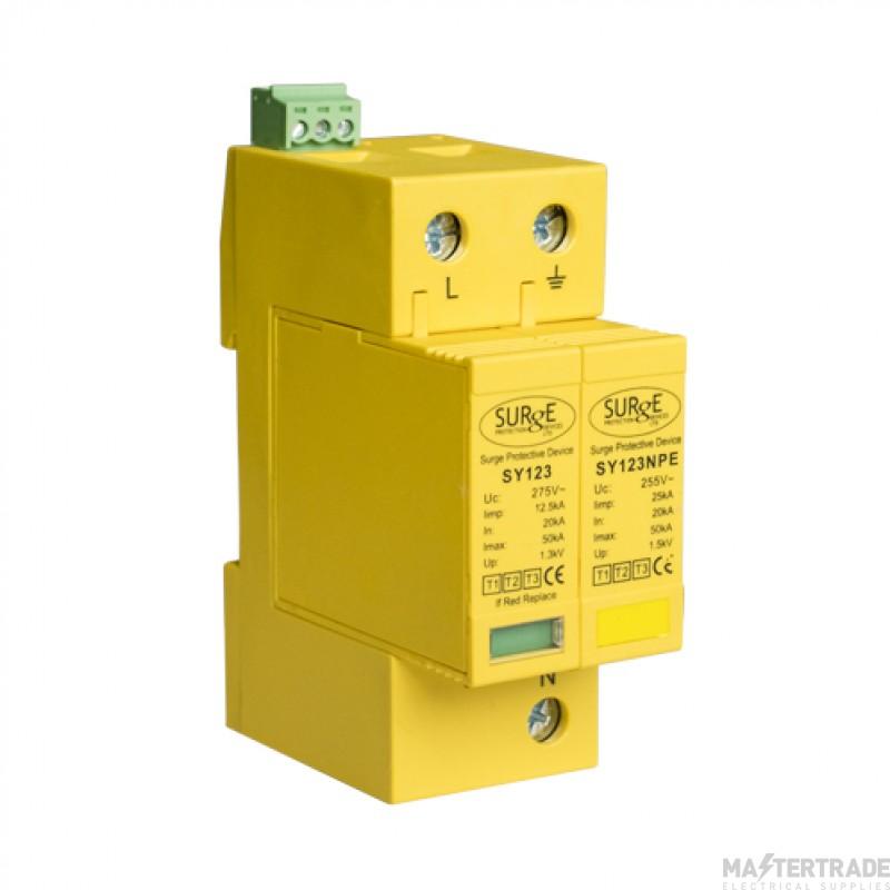 SPD SY12325KA2P Combined Type 1+2+3 lightning & Surge Protection Device 25kA