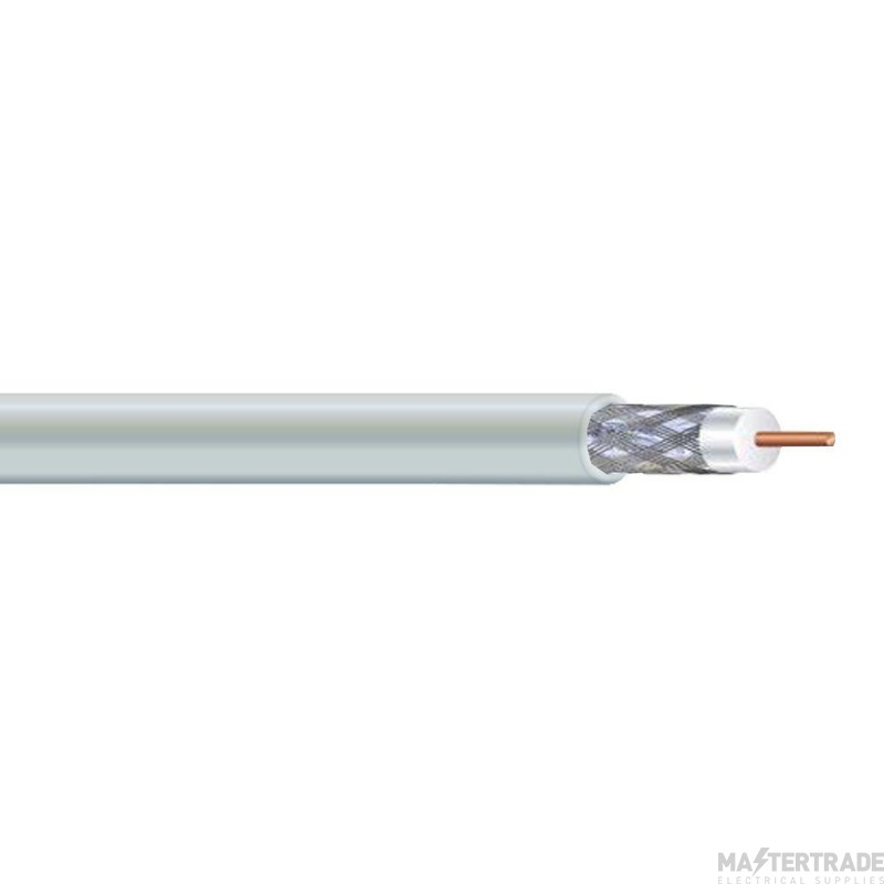 Basic Coaxial Cable 100m - White