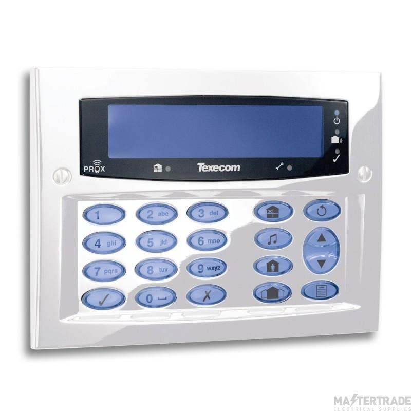 Texecom Premier Elite Diamond White FMK Keypad DBD-0170