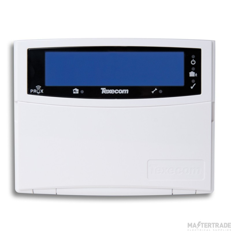 Texecom Premier Elite Ricochet Wireless LCD Keypad LCDLP-W