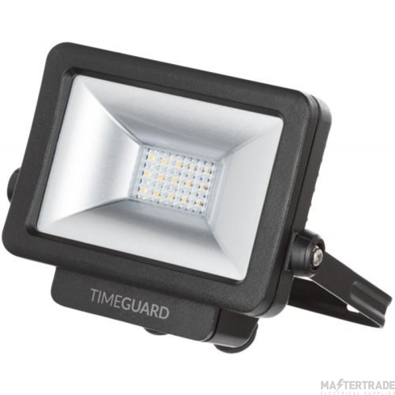 Timeguard 10W LED Pro Floodlight Black Add Sensor LEDPRO10B