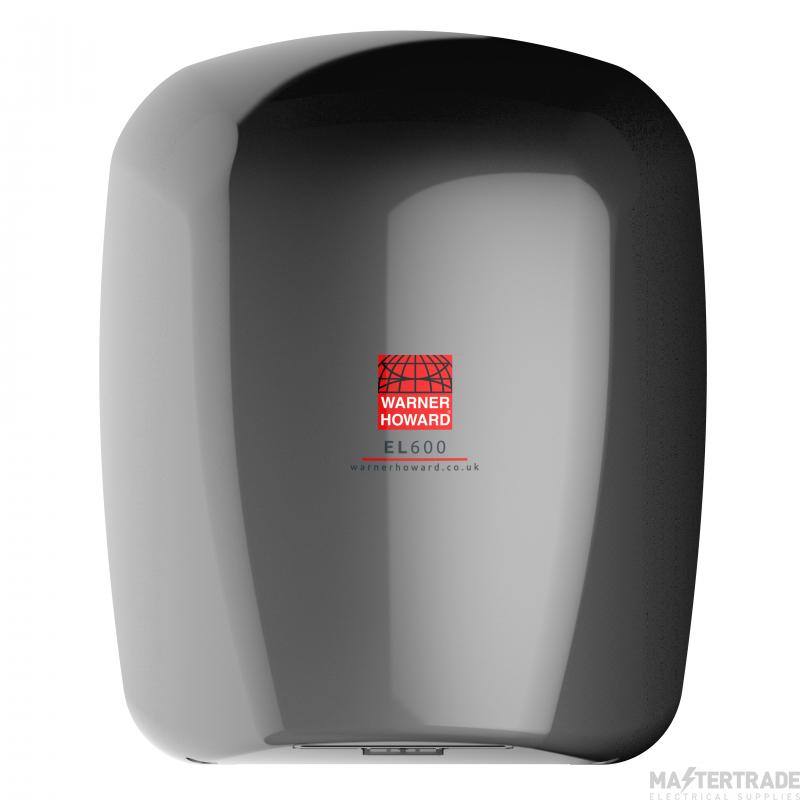 Warner 091225PR EL600 Hand Dryer 600W