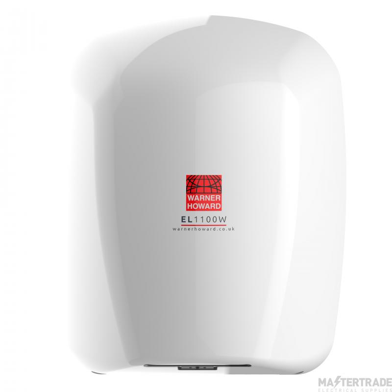 Warner 091227PR EL1100 Hand Dryer 1100W