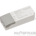 Knightsbridge 12DC25D IP20 12V 25W DC Dimmable LED Driver - Constant Voltage