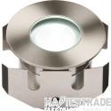 Knightsbridge 1IPW Groundlight White LED 1W Stainless Steel