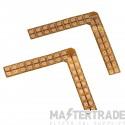 SLV Solder edges 90? for FLEXLED ROLL and FLEXLED ROLL PRO 12V/24V, max. 2A, 2 pieces