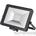 Timeguard 50W LED Pro Floodlight Black Add Sensor LEDPRO50B