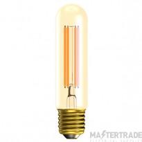 BELL 01443 4W LED Vintage Tubular Dimmable - ES, Amber, 2000K - L130mm