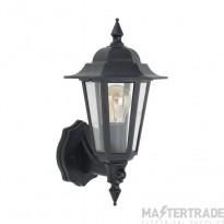BELL 10359 Full Lantern Wall Light With PIR Vintage Black - ES/E27 Lamp Base