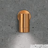 BELL 10415 Luna GU10 Wall Light - Fixed Single, Copper, IP65