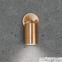 BELL 10419 Luna GU10 Wall Light - Adjustable, Copper, IP65
