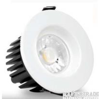 ALL LED AFD010D/30/DALI LED Fire Rated Downlight 3000K DALI Cast Aluminium Powder Coated 50x82mm