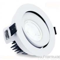 ALL LED AFD110ADJD/30/DALI Adjustable LED Fire Rated Downlight 3000K DALI 10W 950lm