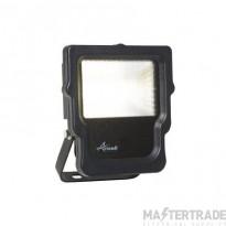 Calinor LED Polycarbonate Floodlight Cool White 10W Black