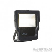 Ansell Calinor LED Polycarbonate Floodlight Warm White 10W Black