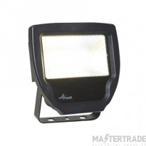Ansell Calinor LED Polycarbonate Floodlight Warm White 30W Black