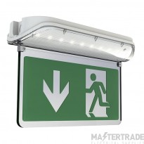 Ansell AHARLED/L/AU Harrier Emergency Exit Blade Legend Up Double Sided