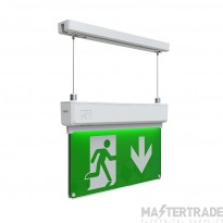 Ansell AKESLED/3M Susp LED Exit Sign