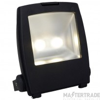 Ansell AMLED100/PC Mira Die-Cast 100W Commerical LED Floodlight 4750K 9390lm c/w Photocell