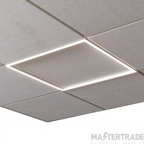 Ansell Lighting ASPELED/60/CCT/DM3 Spektrum LED Panel Frame Light 600x600 CCT DALI M3 28W
