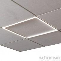 Ansell Lighting ASPELED/60/CCT/SM3 Spektrum LED Panel Frame Light 600x600 CCT Self Test M3 28W