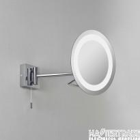 Astro 1097001 Gena switched, swing-arm, illuminated bathroom mirror